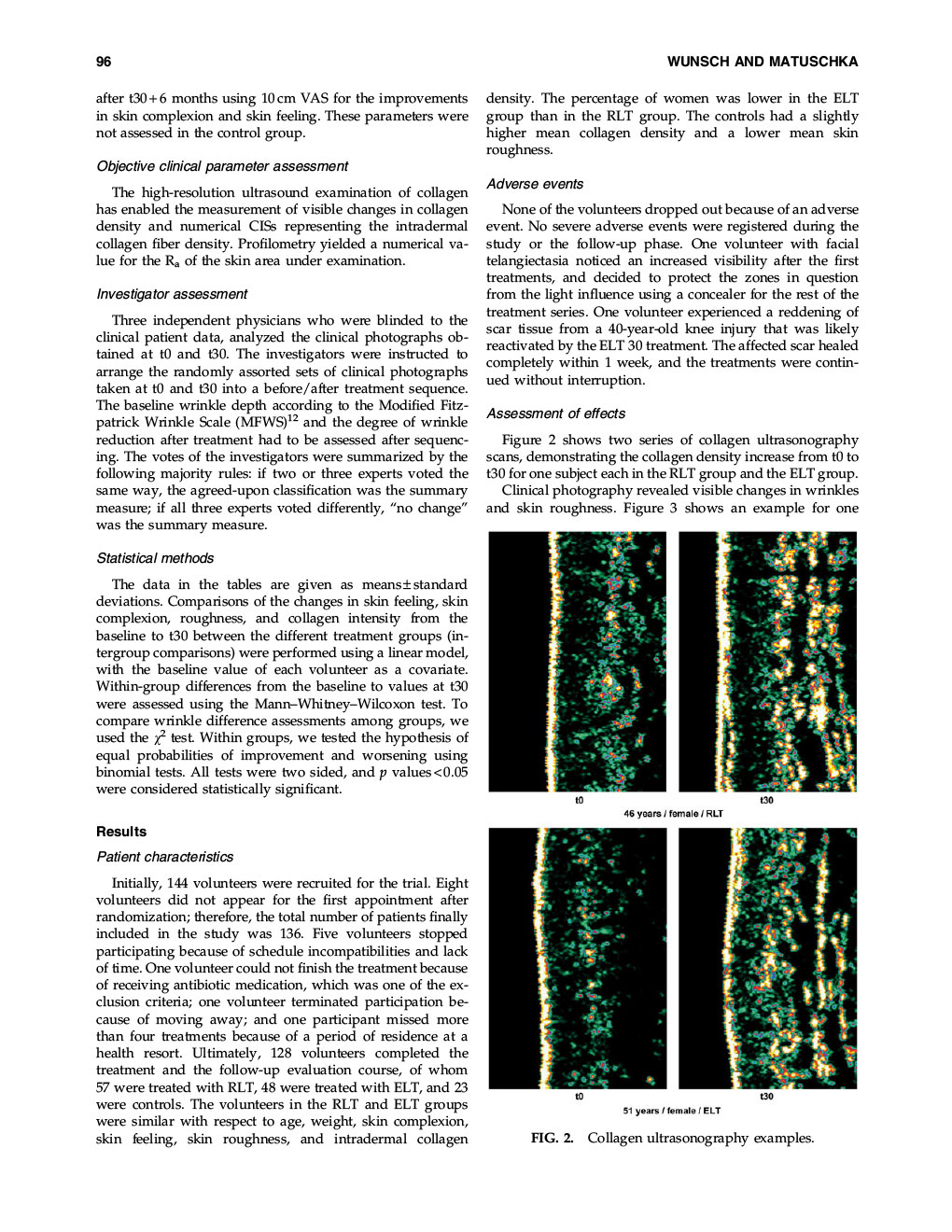 Efficacy of Red Near Infrared Light Treatment 4