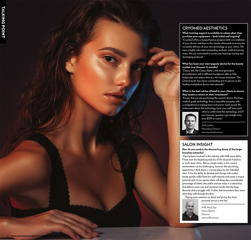 Cryomed- as seen in Professional Beauty2